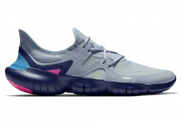 Zapatillas Nike Free RN 5.0 para Hombre Azul / Rosa