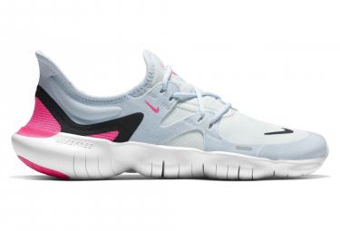 Zapatillas Nike Free RN 5.0 para Mujer Gris / Rosa