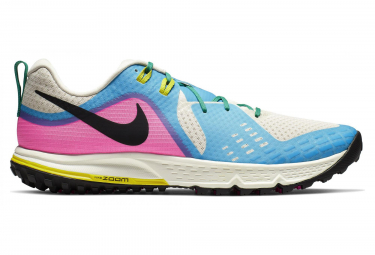 Nike Air Zoom Wildhorse 5 White Blue Pink Men
