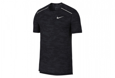 Nike Short Sleeves Jersey Rise 365 Black Camo Men