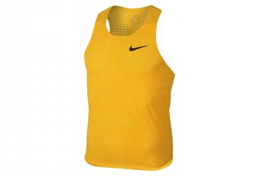 Nike Tank Aeroswift Yellow Men