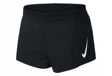 Nike Split Short Aeroswift 5cm Black Men