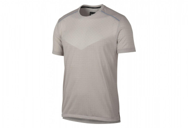 Maillot Manches Courtes Nike Tech Pack Gris Homme