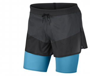Nike Short 2-en-1 Tech Pack Black Blue Men