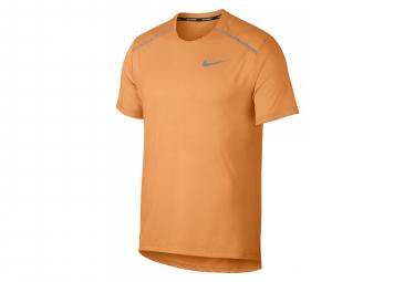 Nike Short Sleeves Jersey Rise 365 Orange Men