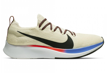 Nike Zoom Fly Flyknit Grey Red Men