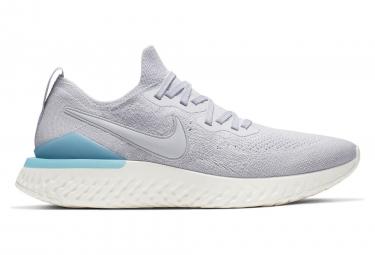 Nike Epic React Flyknit 2 Grey Blue Men