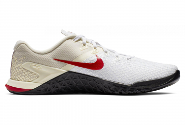 Chaussures de Cross Training Nike Metcon 4 XD Blanc / Rouge