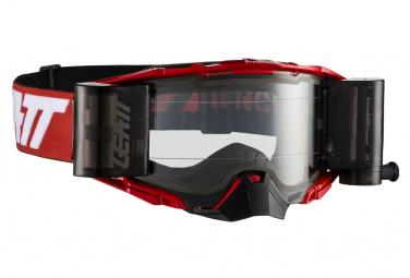 Masque Leatt Velocity 6.5 Roll Off Rouge/Blanc - Ecran Clair
