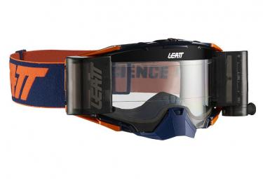 Leatt Velocity 6.5 Roll Off Blue / Orange Mask - Clear Screen