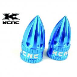 Bouchons de valve KCNC - Bleu