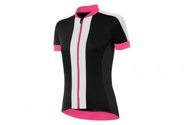 Zero rh+ Spirit Women Short Sleeves Jersey Black Pink White