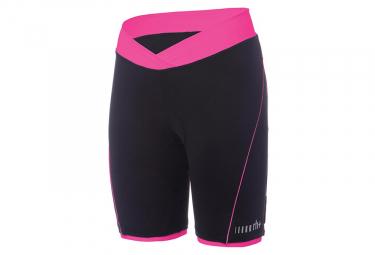 Zero rh+ Pista Women Bibless Shorts Black Pink