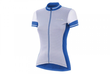 Zero rh+ Breeze Women Short Sleeves Jersey Blue White