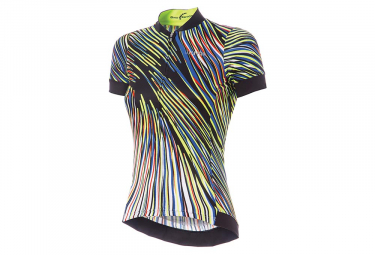 Zero rh+ Bella Women Short Sleeves Jersey Multicolor Black