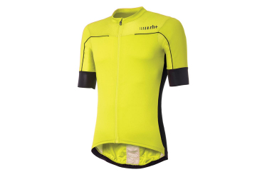 Short Sleeve Jersey Zero rh + Lapse Yellow Fluo Black