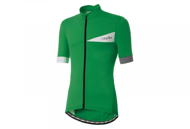 Zero rh+ Prime Evo Short Sleeves Jersey Leaf Green White