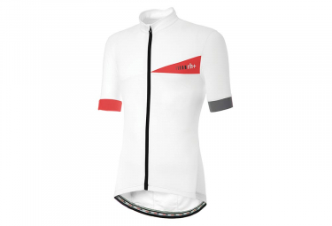 Zero rh+ Prime Evo Short Sleeves Jersey White Red