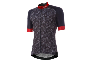 Zero rh+ Fashion Power Short Sleeves Jersey Black Grey Red
