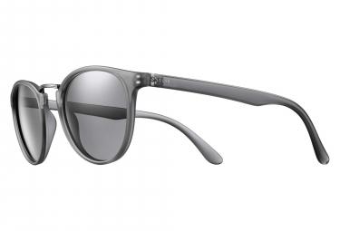 Solar Cox Women Sunglasses Translucent Grey / Grey Polarized