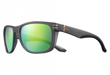 Solar Tennant Sunglasses Translucent Grey / Green Polarized