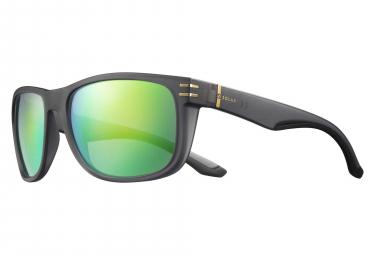 Image of Paire de lunettes solar tennant gris translucide vert polarise