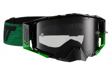 Mask Leatt Velocity 6.5 Roll Off Black / Green - Smoke Screen