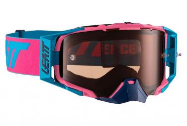 Leatt Velocity 6.5 Roll Off Pink / Blue Mask - Pink Screen