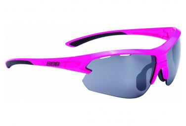 BBB Glasses Impulse small Pink brill PC Smoke flash mirror lenses