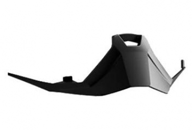 Detachable nose Leatt Velocity 6.5 Black