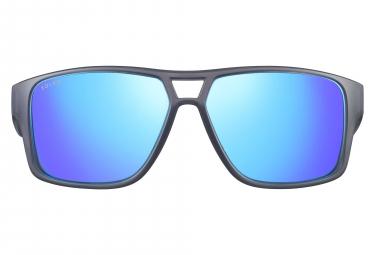 Paire de Lunettes Solar Parker Gris Translucide / Bleu Polarisé