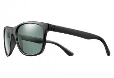 Solar Strummer Sunglasses Black / Green Polarized