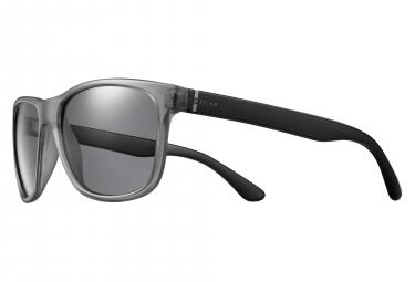 Solar strummer sunglasses translucent grey   black polarized