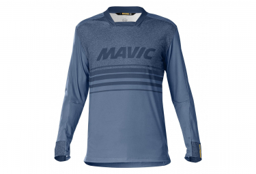 Sam Hill II Blue Mavic Deemax Pro Ltd Long Sleeve Jersey