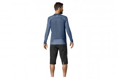 Mavic Deemax Pro Long Sleeves Jersey Ltd Sam Hill II Blue