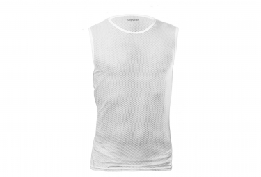 GripGrab Ultralight Sleeveless Mesh Baselayer White