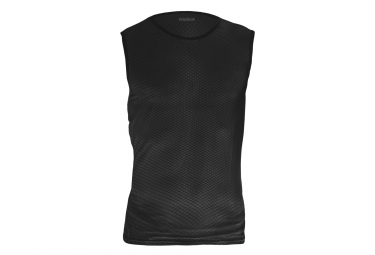 GripGrab Ultralight Sleeveless Mesh Baselayer Black