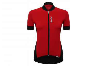 SANTINI BRIO Short Sleeve Wommen Jersey Red