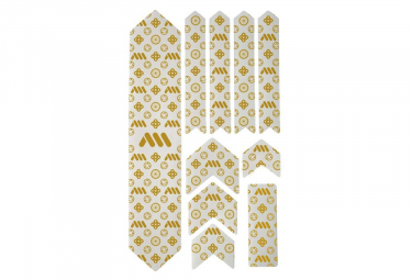 Kit Protection de Cadre All Mountain Style Honeycomb XL 10 pcs - Couture / Transparent