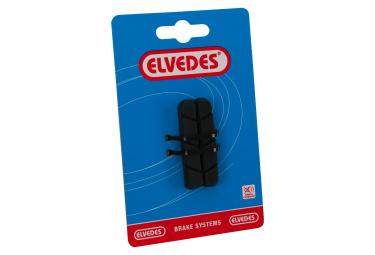 Paire de Cartouches de Patins de Frein Route Elvedes Pads 55mm / pour supports Campagnolo