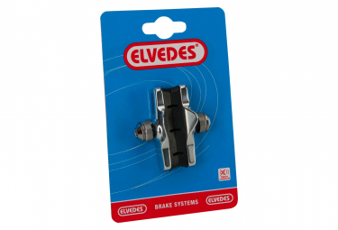 Elvedes Alloy Road Brake Pads Cartridges 55mm for Campagnolo