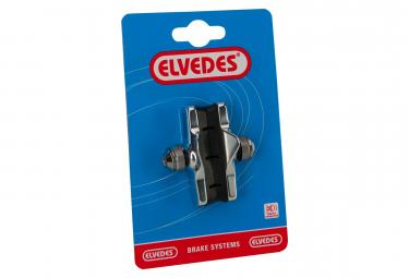 Paire de Patins de Frein Route Elvedes 55mm Alu Compatible Campagnolo