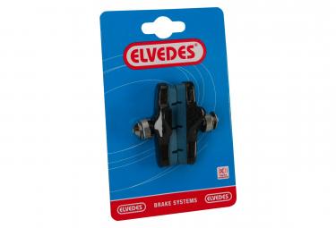 Paire de Patins de Frein Route Elvedes 55mm Compatibilité Campagnolo pour Jantes Carbone