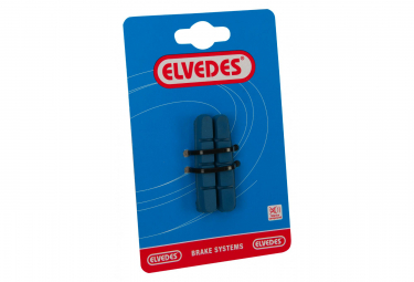 Elvedes Pair Of Road Brake Pads 55mm   Shimano Compatibility   For Carbon Rims