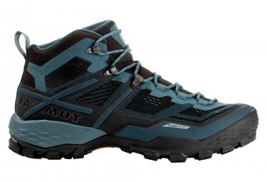 Mammut Ducan Mid Gtx Hiking Shoes Black Blue 40 2 3