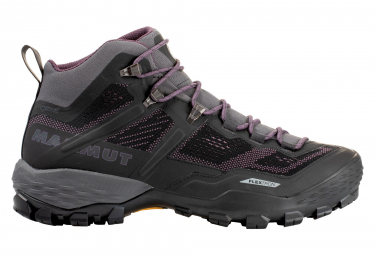 MAMMUT Ducan Mid GTX Shoes Women Black Puple