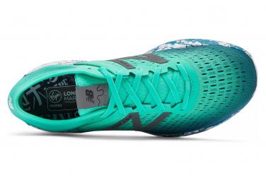 Chaussures de Running New Balance Fresh Foam 1080 V9 London Vert / Bleu