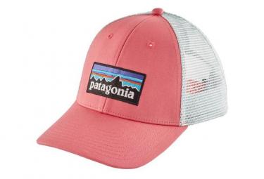 Patagonia P-6 Logo LoPro Trucker Hat Pink