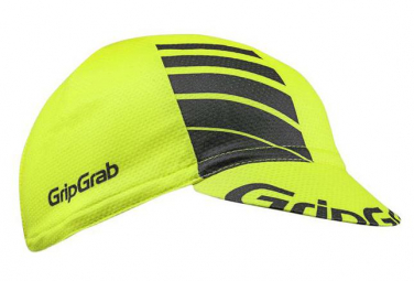 GRIPGRAB Lightweight Summer Cycling Cap ? Jaune Fluo Taille Unique