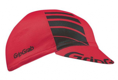 GRIPGRAB Lightweight Summer Cycling Cap ? Rouge Taille Unique